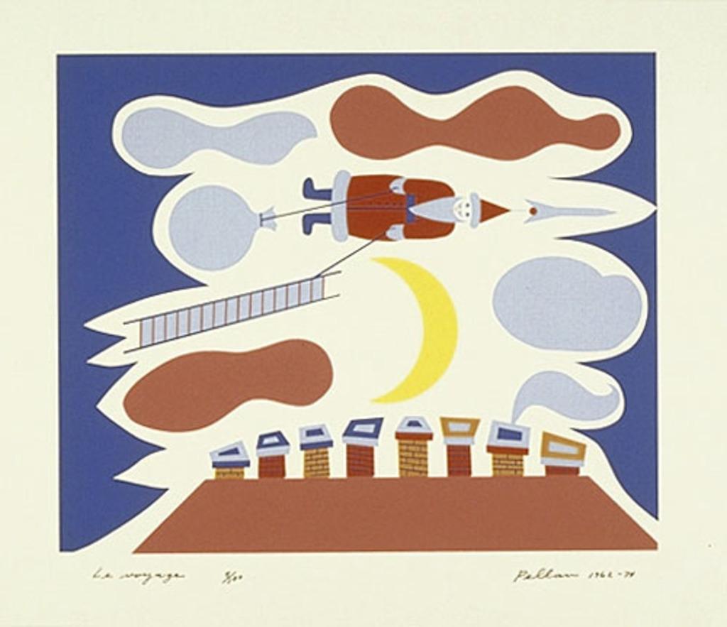Le Voyage, du livre d'artiste «Les Pères Noëls»