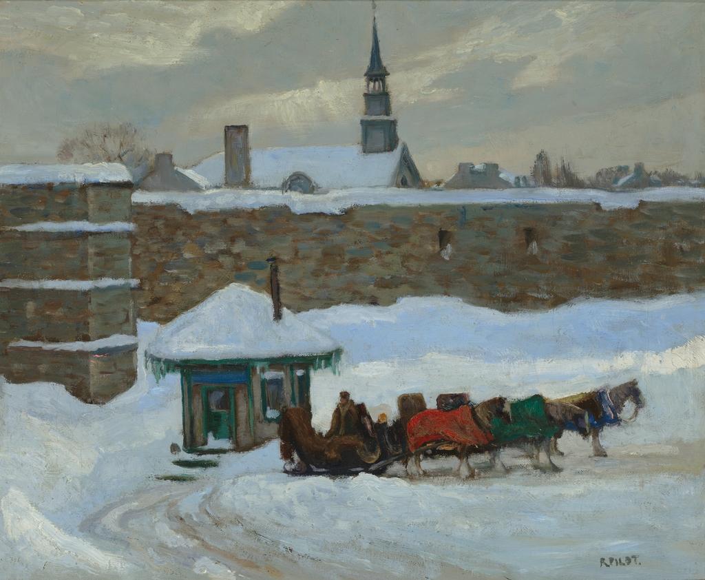 Carrioles, Carré d'Youville, Québec