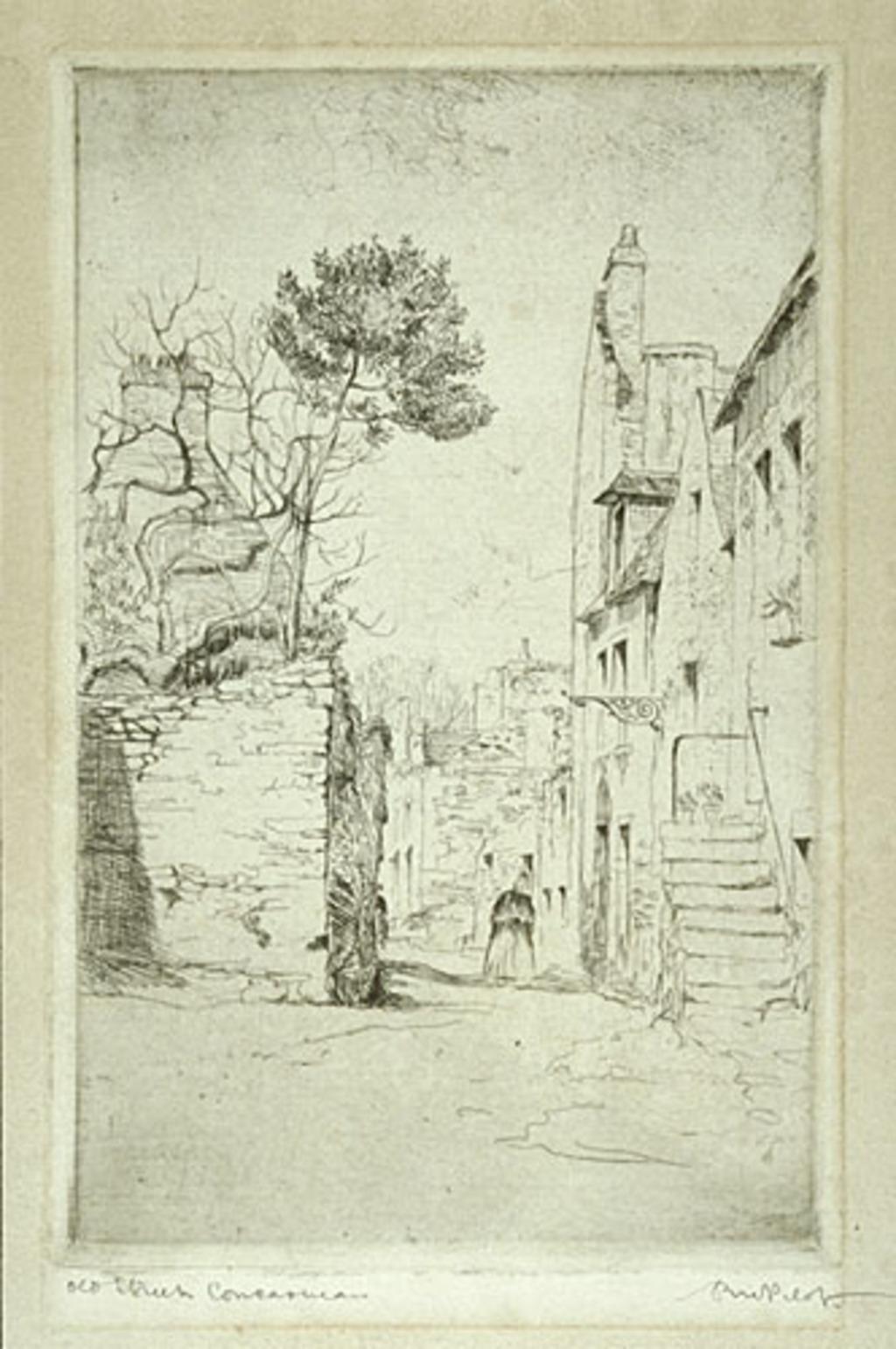 Vieille Ruelle, Concarneau