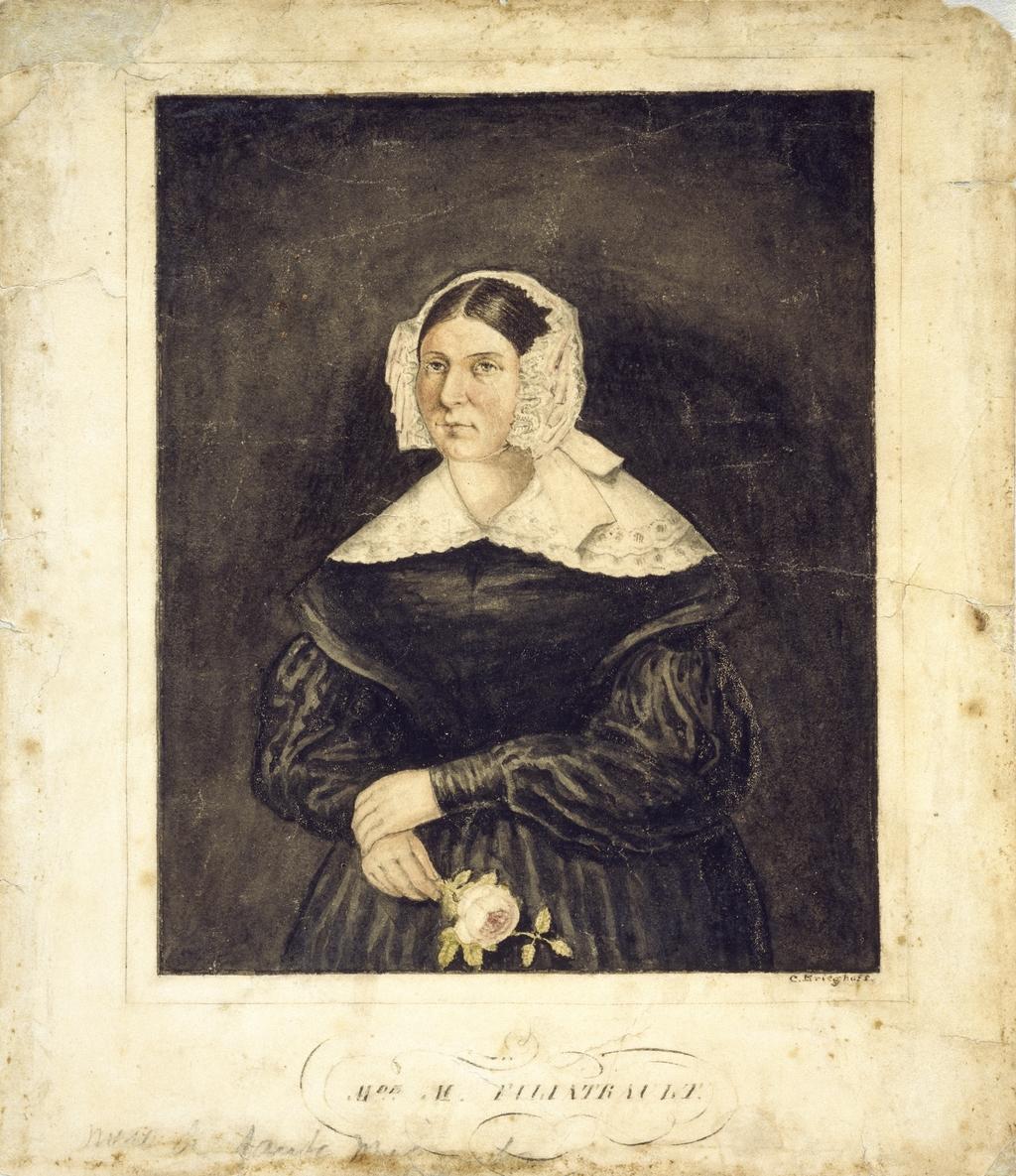 Madame Étienne Sévère Filiatrault, née Martine Brien dit Desrochers