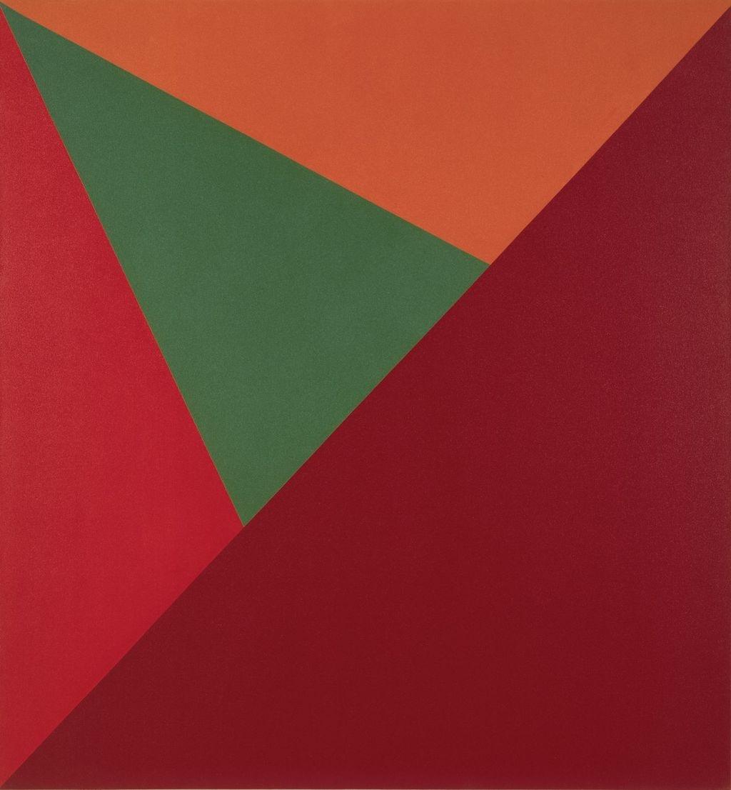 Triangulaire marron