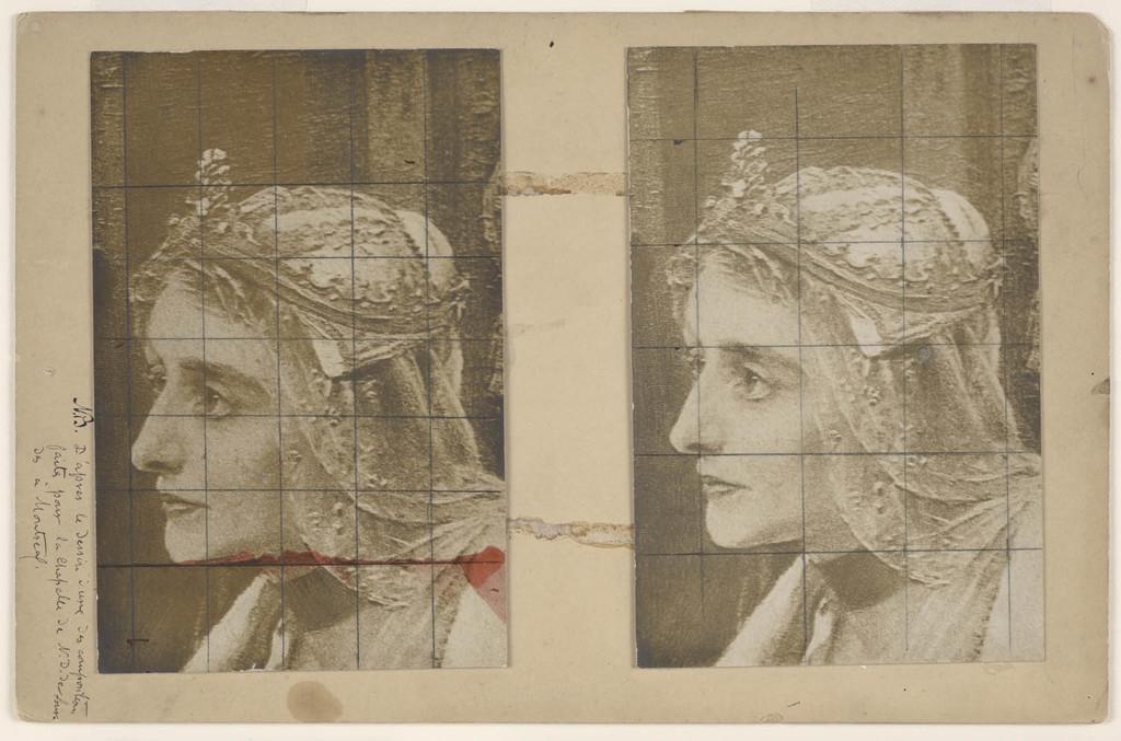 Isabelle 1re, reine de Castille. Photographie d'un détail du tableau « Christophe Colomb à la cour d'Espagne » de Wencelas de Brozik