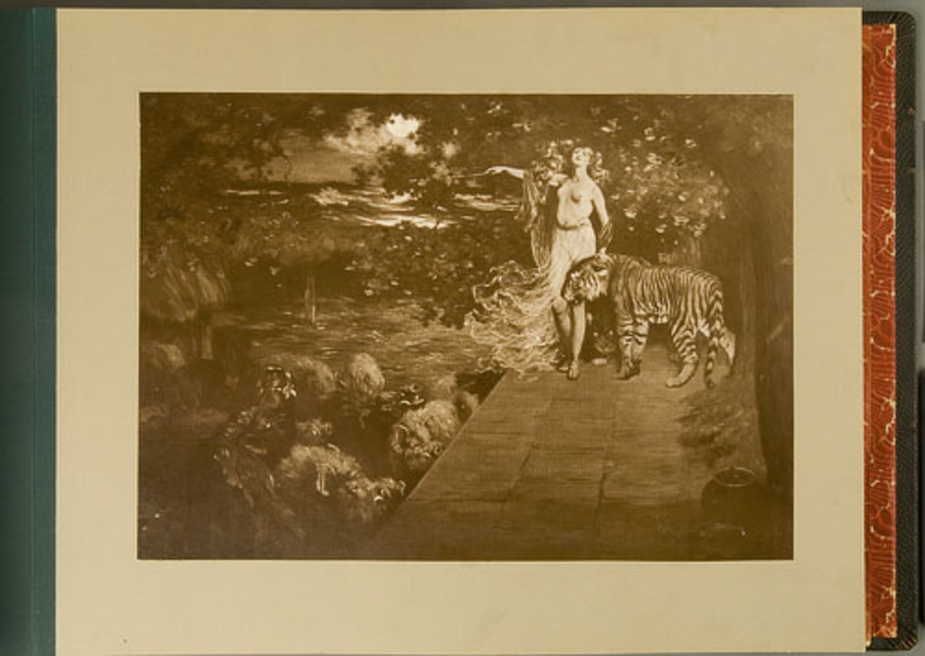 The Enchanted Sty-Circe and the Friends of Ulysses, de l'album de reproductions de peintures d'Horatio Walker