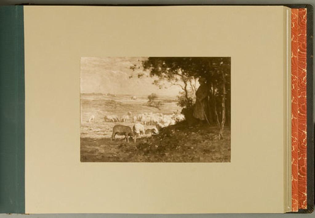 A Summer Pastoral, de l'album de reproductions de peintures d'Horatio Walker