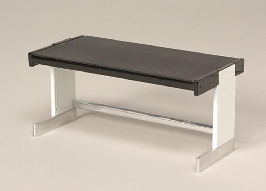 Modèle réduit de la table de travail du « System S » (1969-1970)