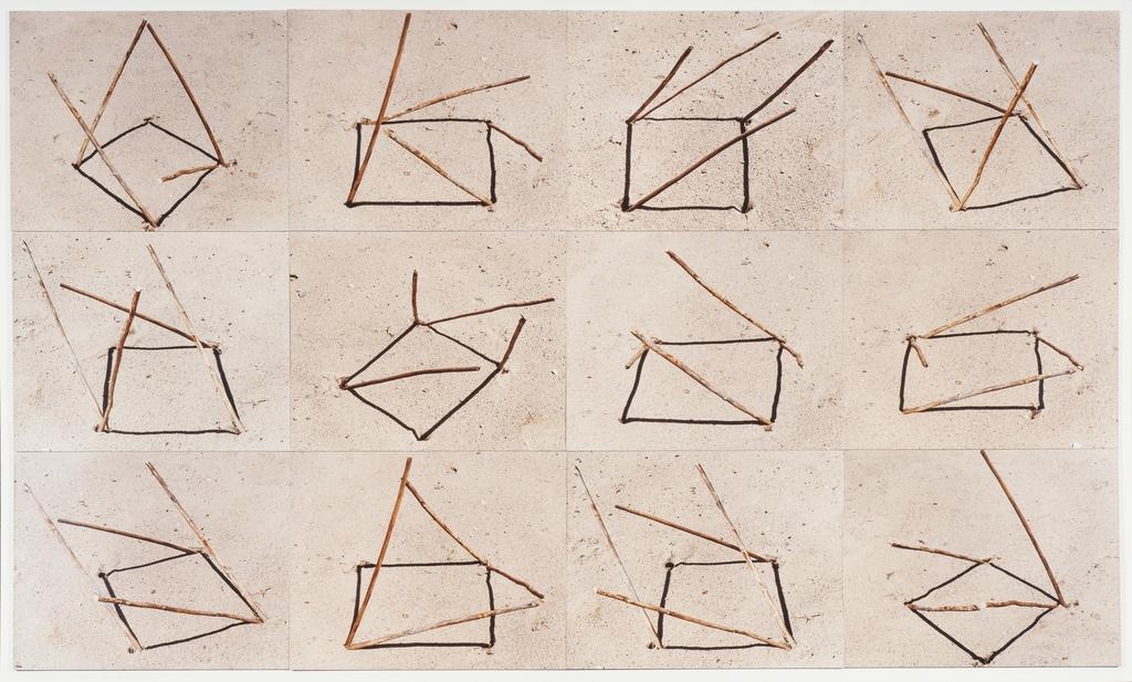 Géométrisation solaire carrée, 12 variations