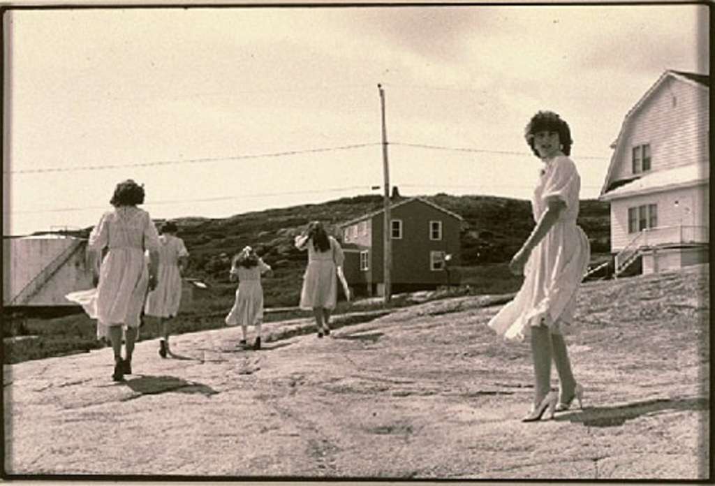 Bridesmaids, Harrington Harbour, the Lower North Shore, Quebec