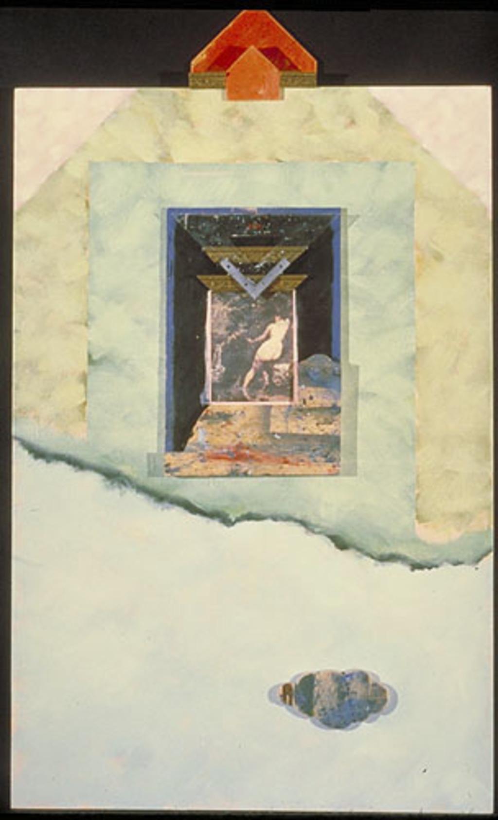 Paysage d'atelier I : sur la source de Courbet