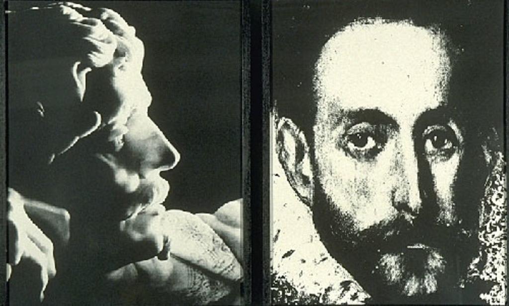Sans titre (deux portraits d'homme)