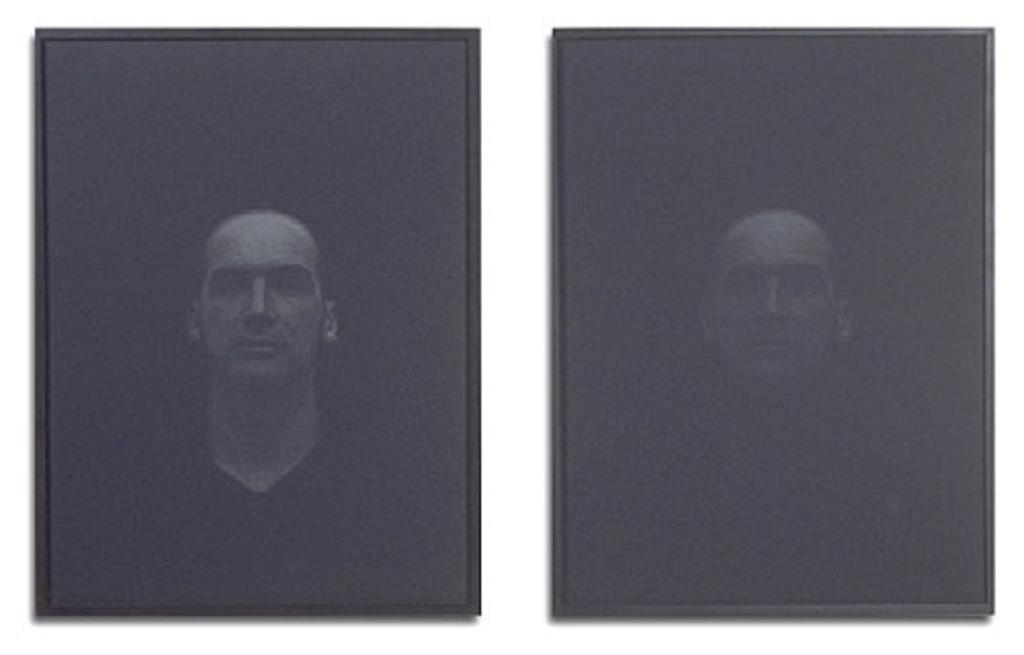 Richard G. (deux états), de la série « Du noir, une impulsion lumineuse »