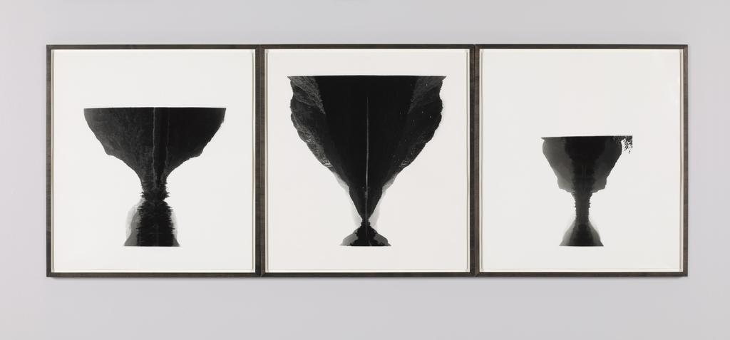 Vases et Montagnes (triptyque)