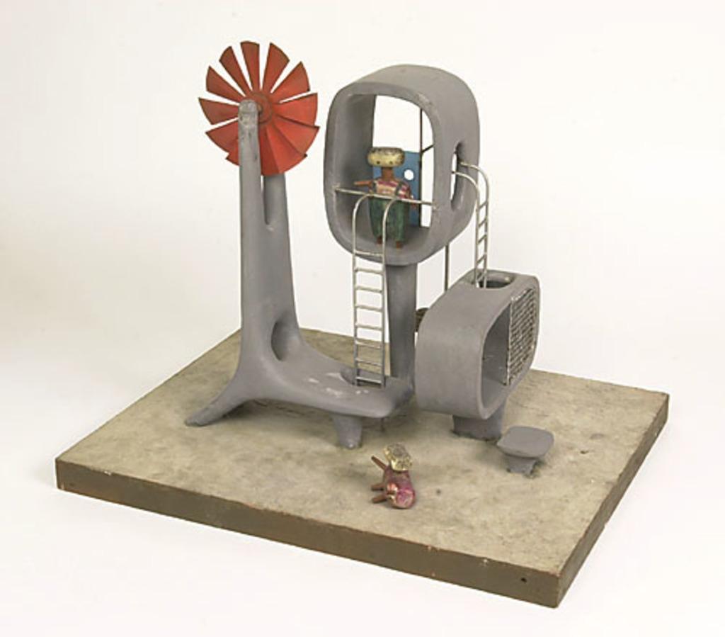 Maquette de sculptures-jeux pour les Habitations Jeanne-Mance