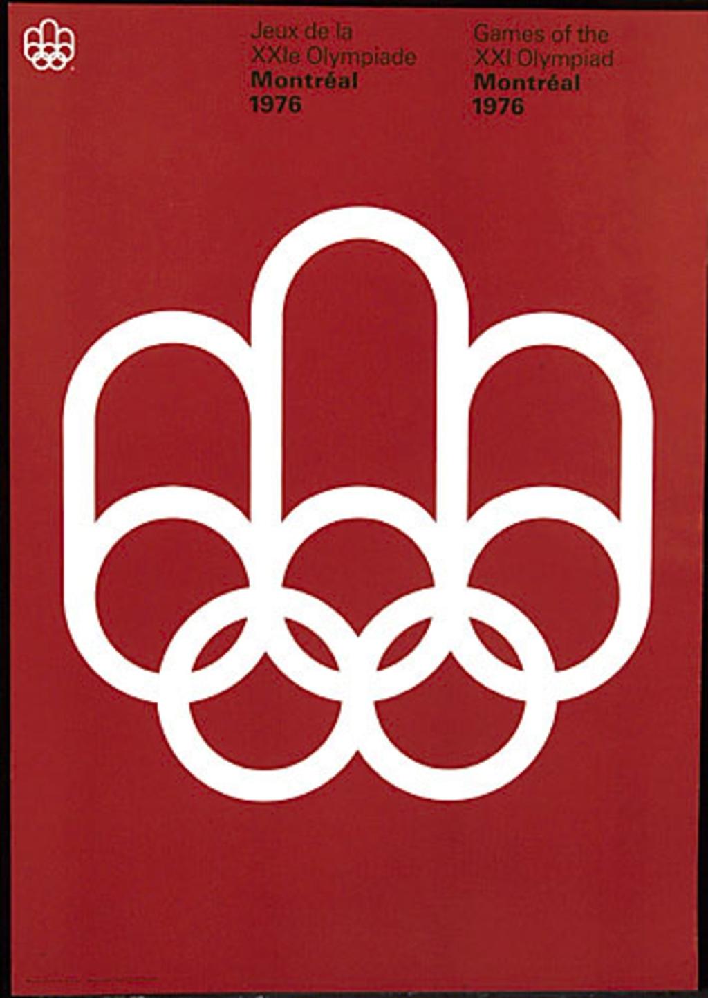 Jeux de la XXIº olympiade, Montréal 1976. L'Emblème