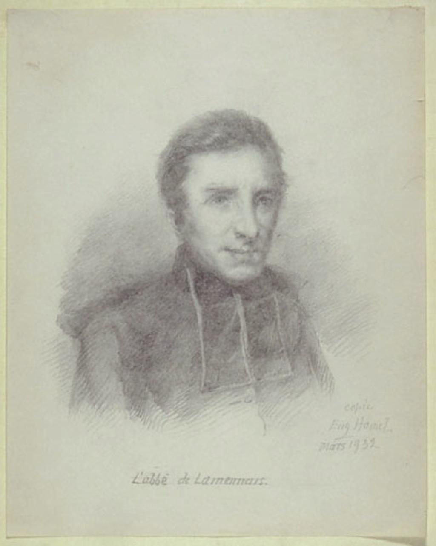 L'Abbé Félicité Robert de Lamennais