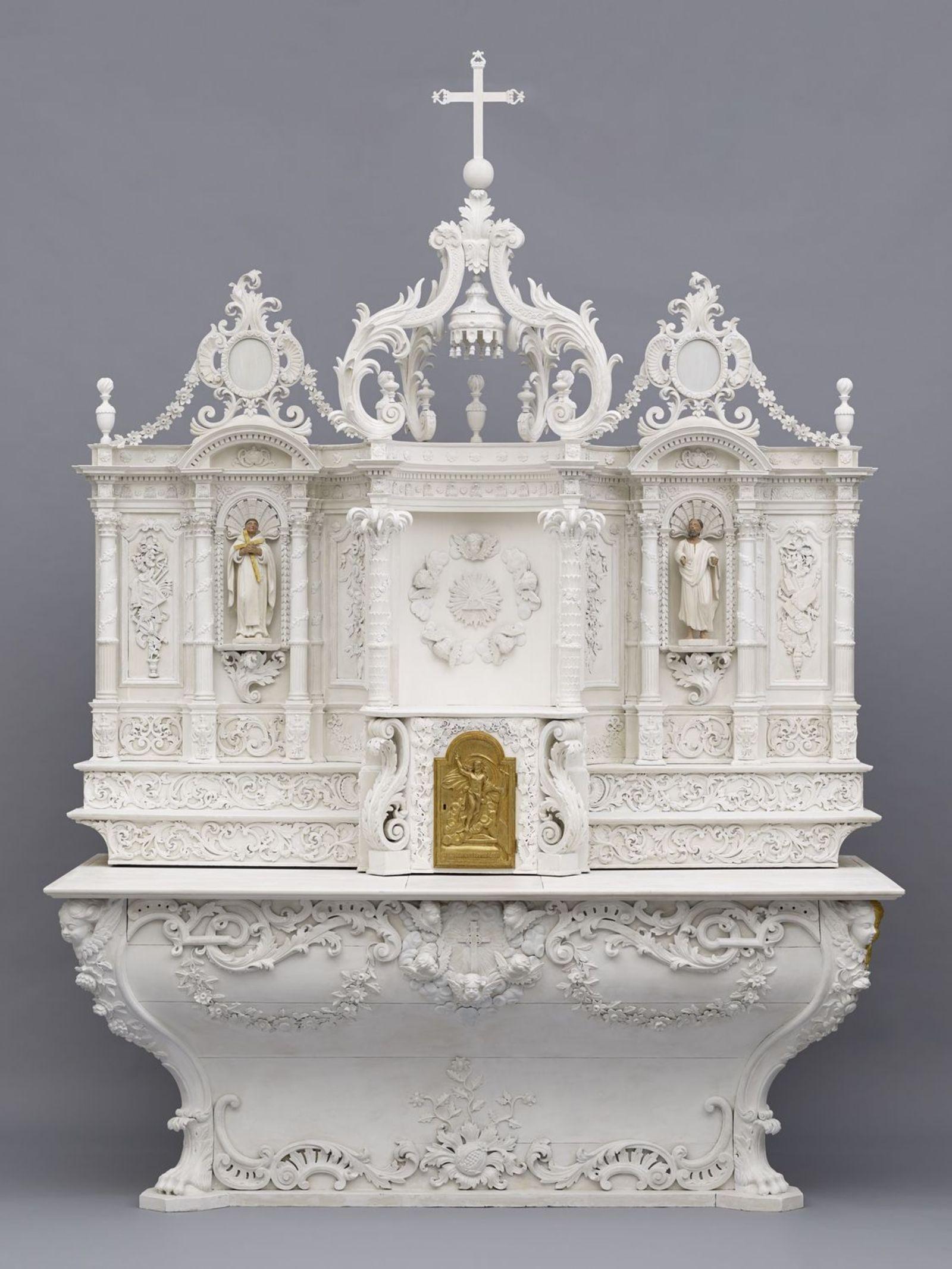 Maître-autel de l'ancien Hôpital général de Montréal