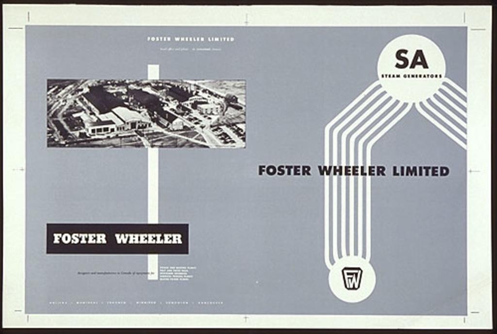 Couverture pour la brochure « Foster Wheeler »