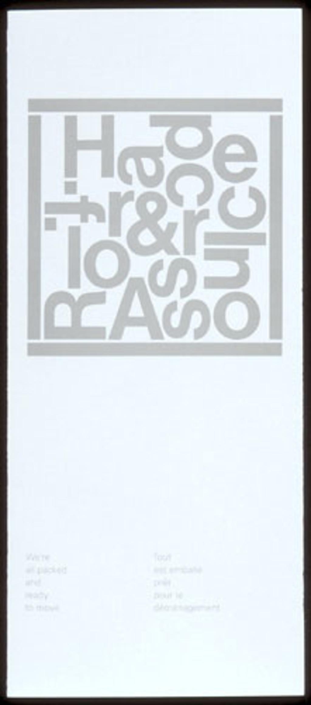 Avis de déménagement pour Rolf Harder & Assoc. Inc.