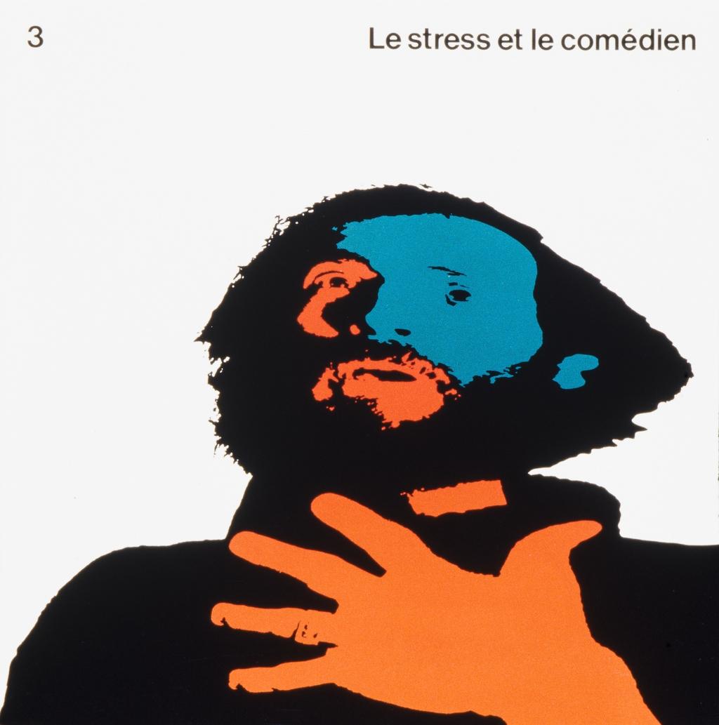 Brochure « Le Stress et le comédien, nº 3 », pour Roche