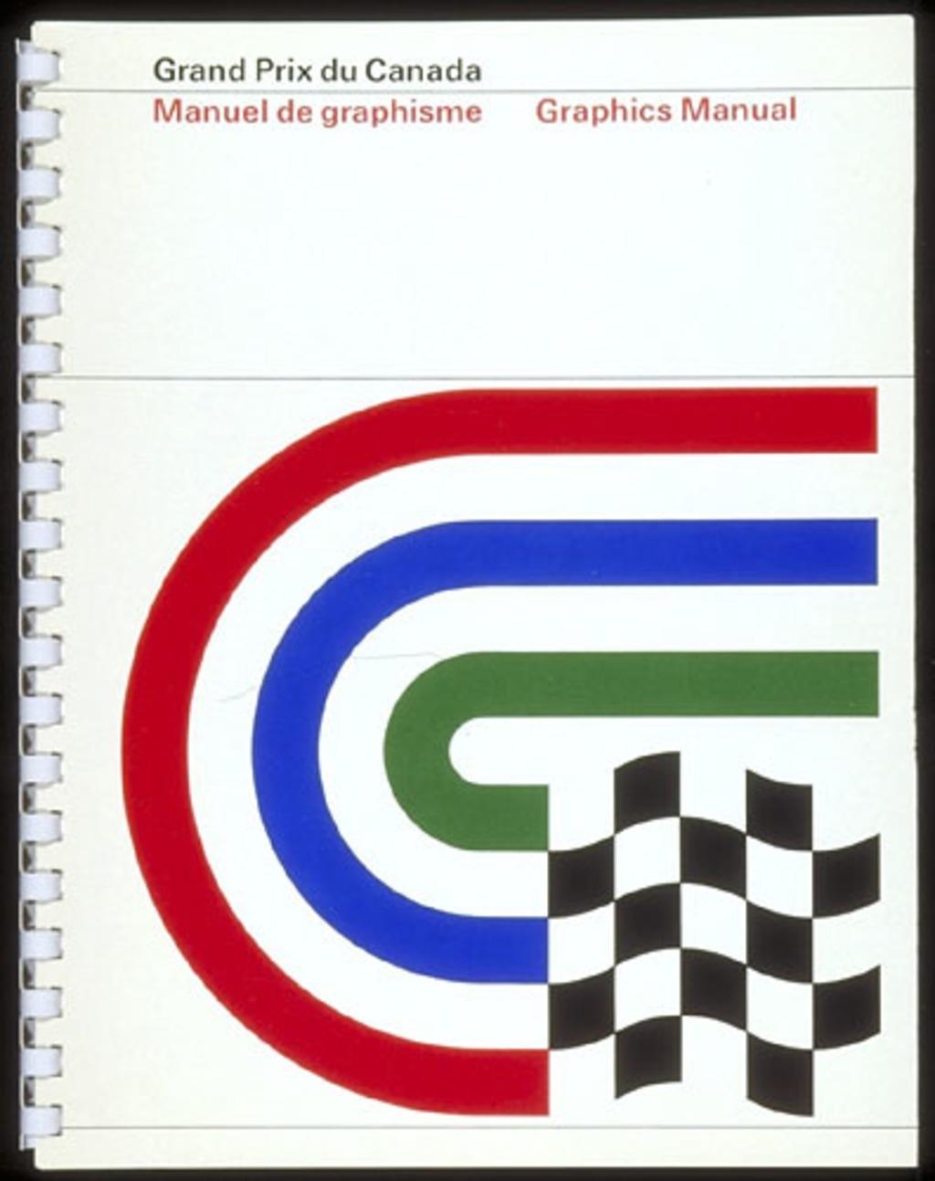 Manuel de graphisme « Grand Prix du Canada »