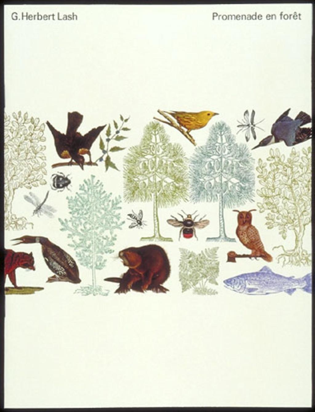 Brochure « G. Herbert Lash. Promenade en forêt »