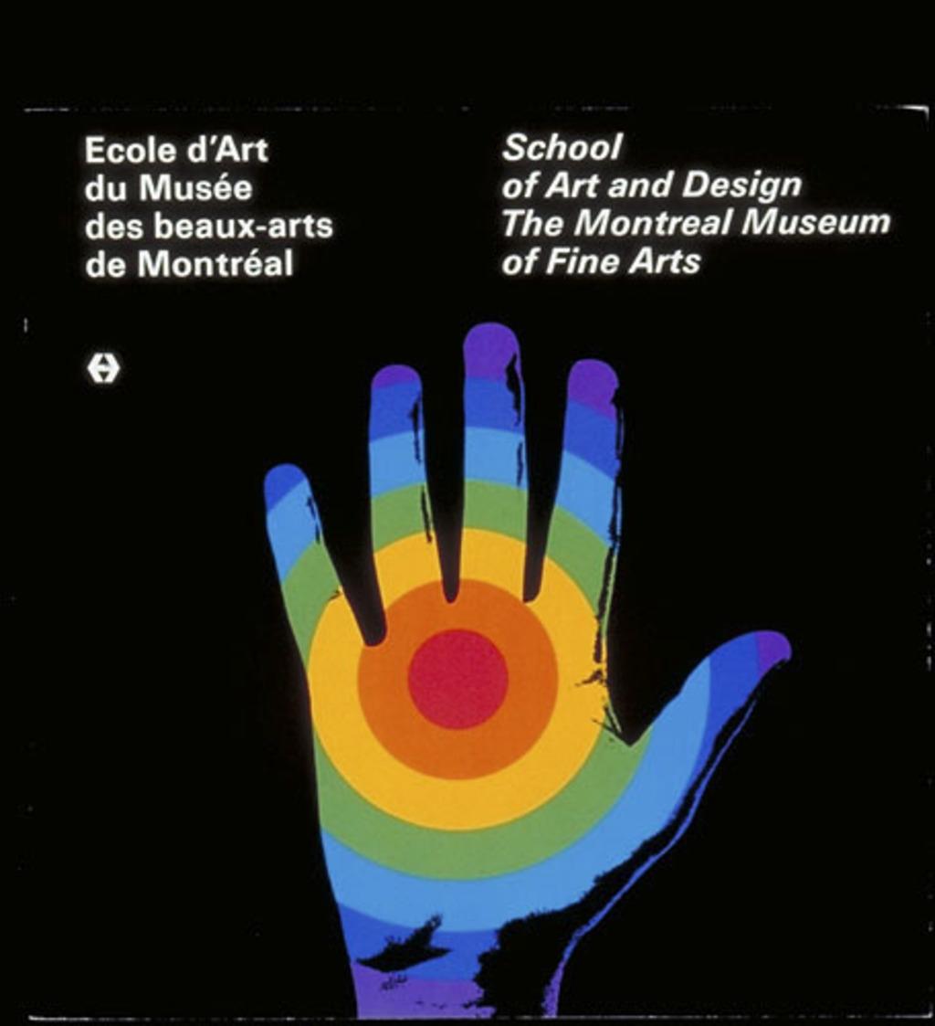 Brochure « École d'art du Musée des beaux-arts de Montréal »
