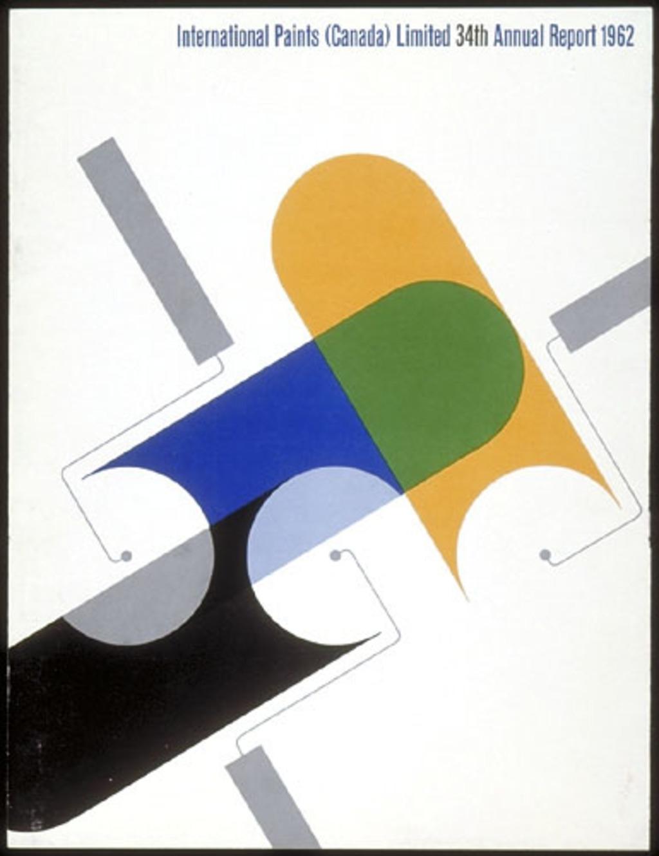 34e Rapport annuel de 1961 pour International Paints (Canada) Limited