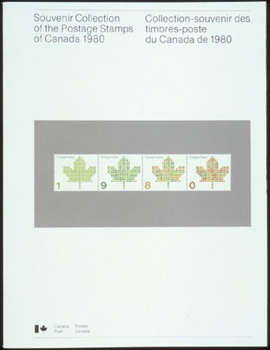 Collection-souvenir des timbres-poste du Canada de 1980