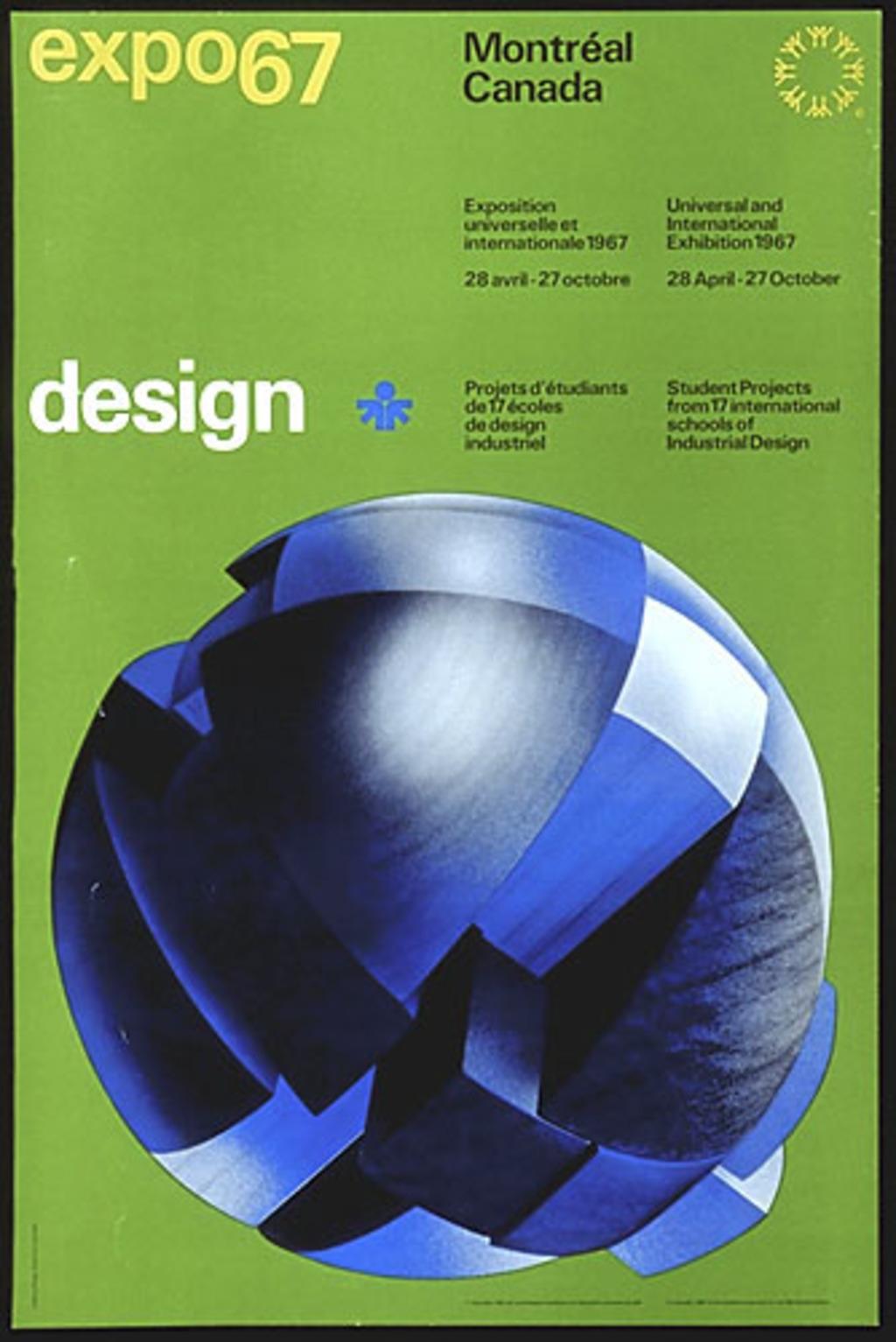 Affiche « Expo 67. Design »