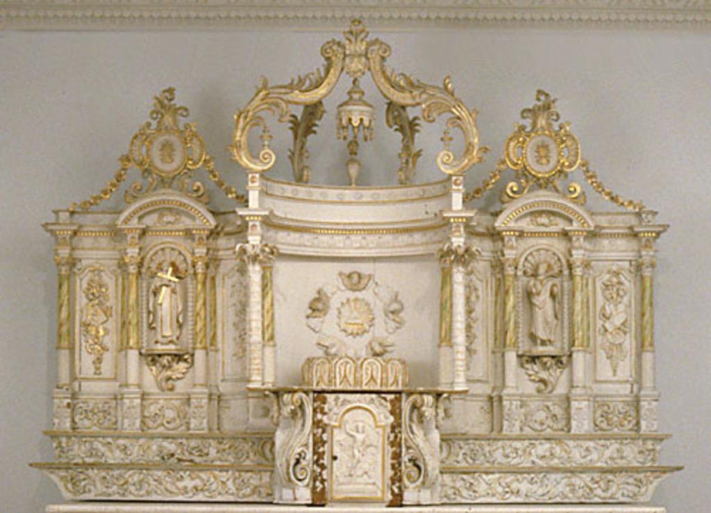Tabernacle du maître-autel de l'ancienne chapelle de l'Hôpital général de Montréal