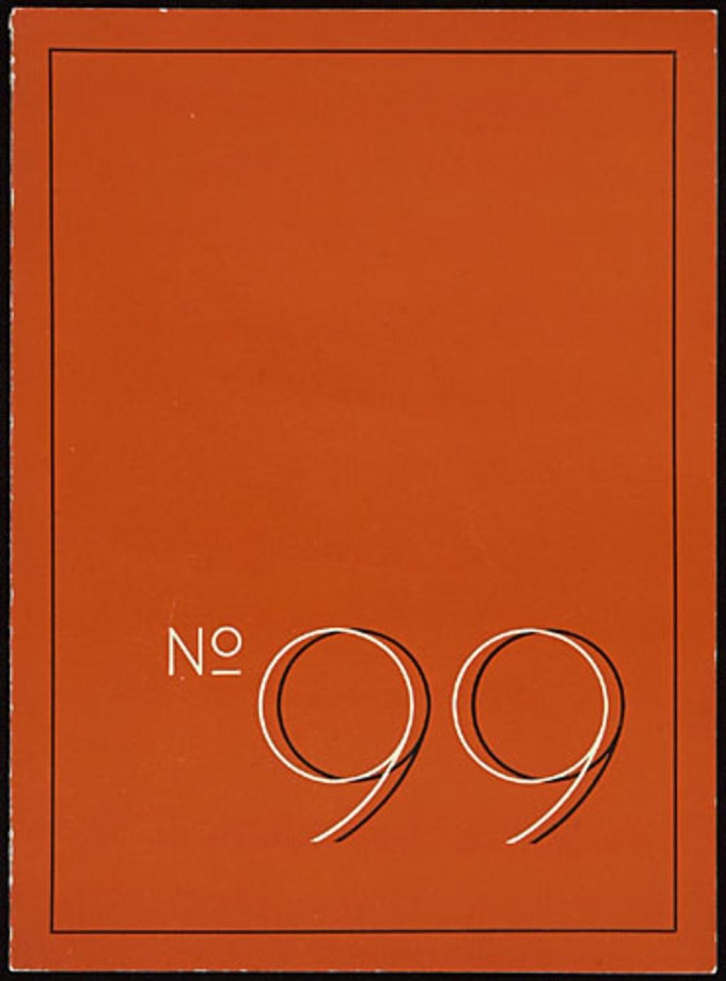 Dépliant « No. 99 », pour Abbott Laboratories