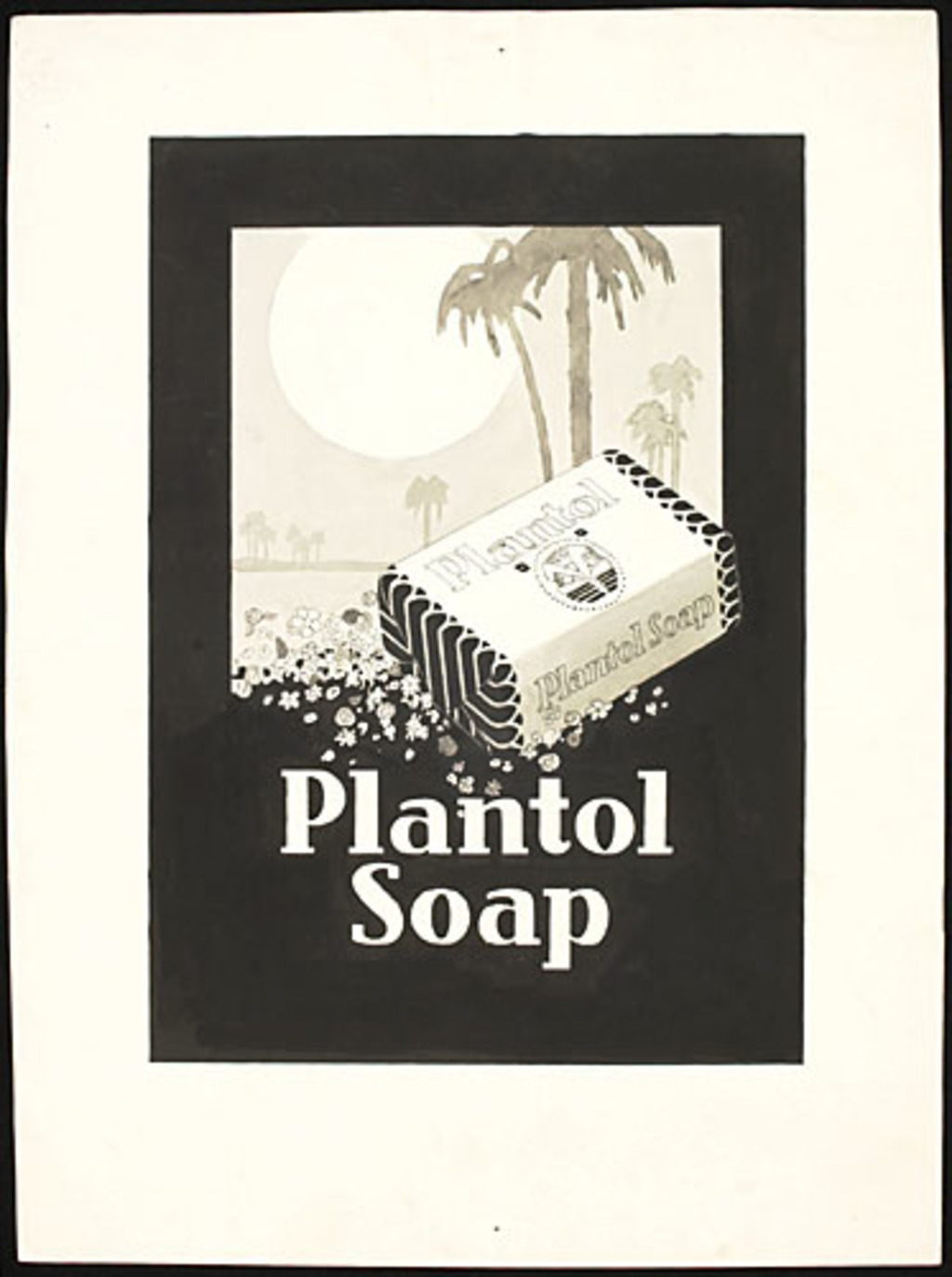Illustration pour l'affiche « Plantol Soap »