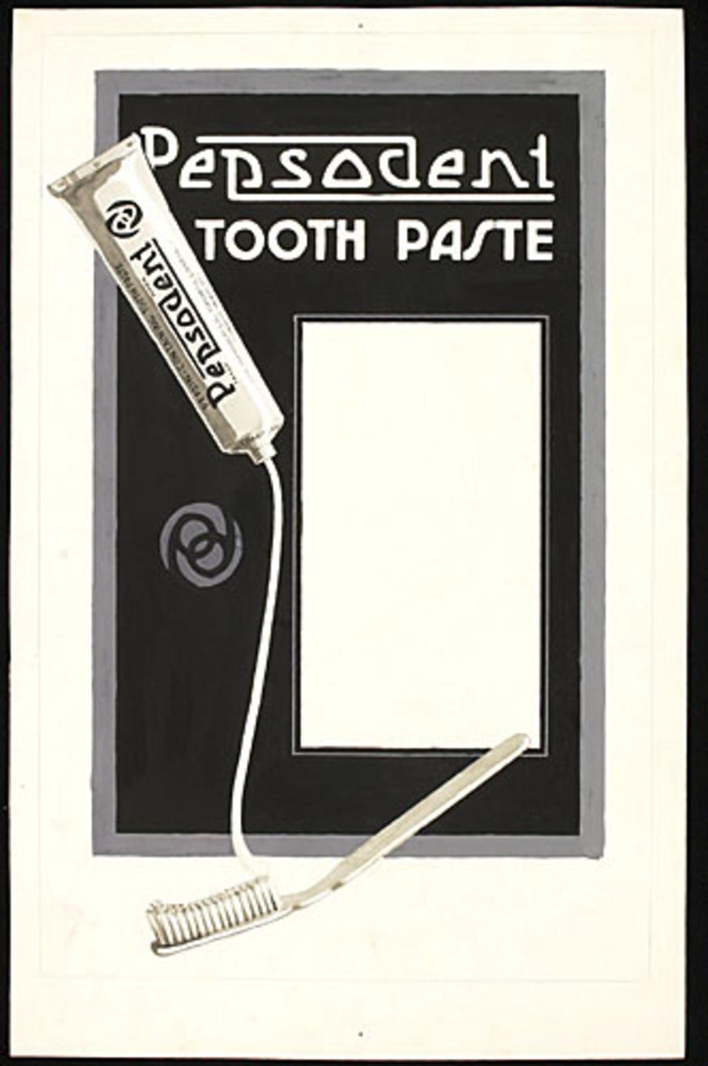 Illustration pour l'affiche « Pepsodent »