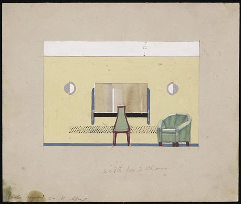 Proposition de décoration pour le salon de beauté du magasin Henry Morgan