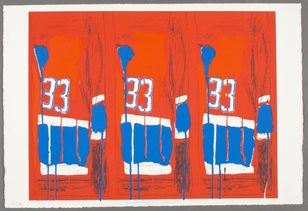 Trente-trois Millions, de la série « Bleu-blanc-rouge »