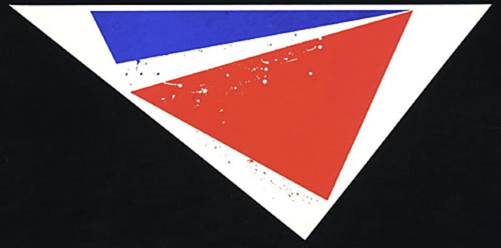 Sans titre, de la série « Triangle »