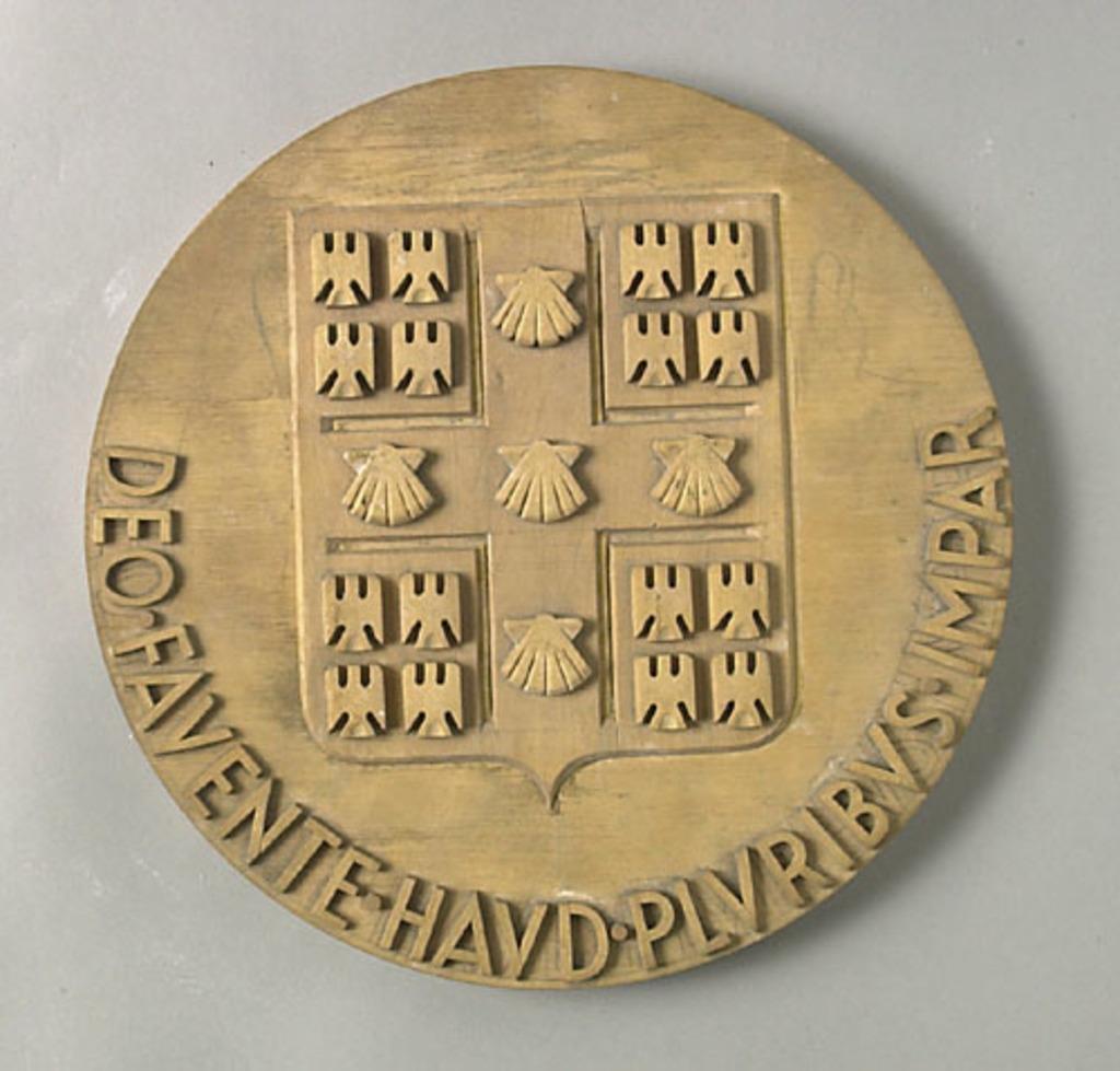 Maquette pour la médaille du centenaire de l'Université Laval