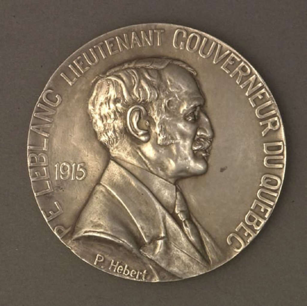 Médaille sir Pierre-Évariste Leblanc