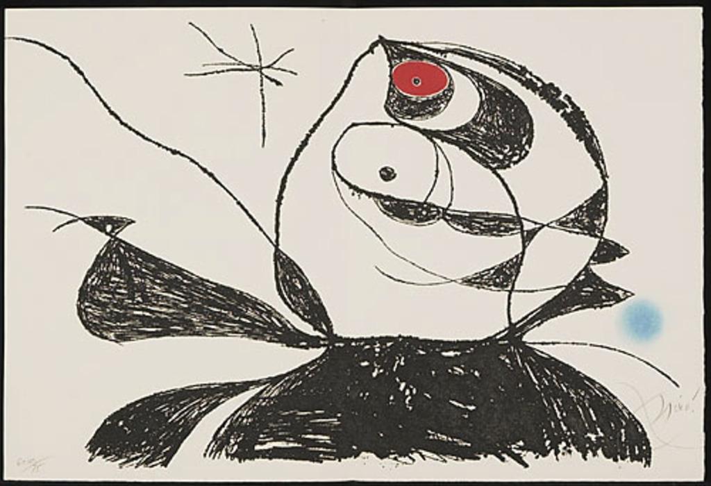 Sans titre, du livre d'artiste «Georges Duthuit»