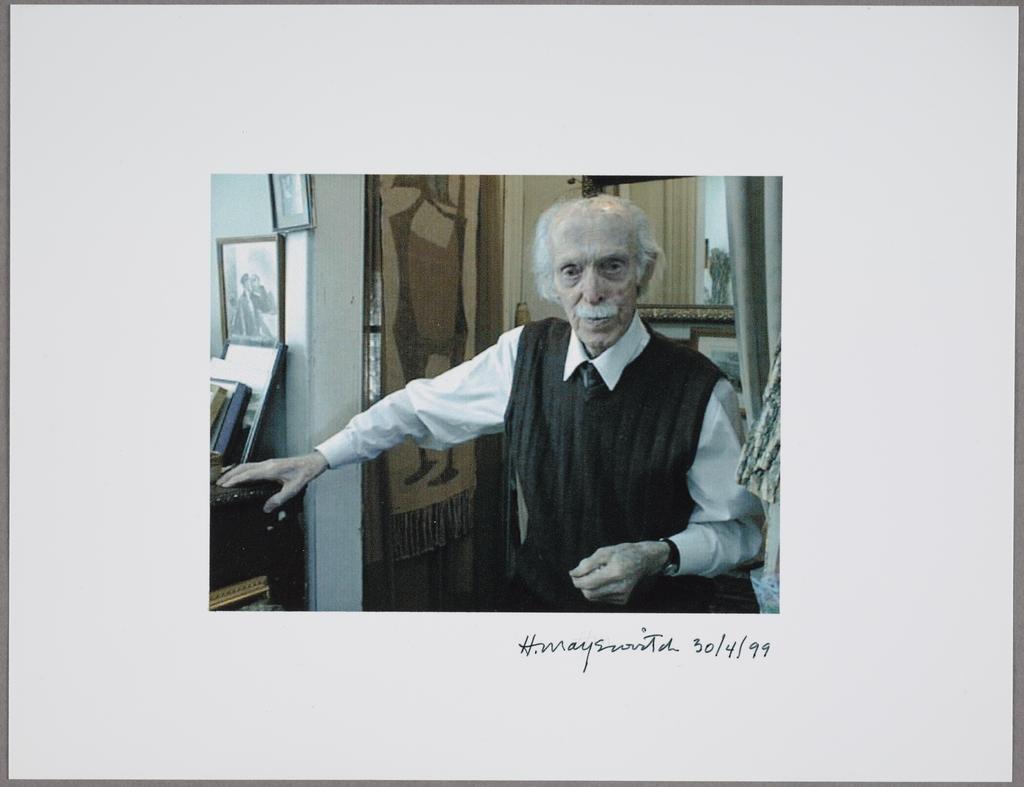 Louis Muhlstock à 95 ans