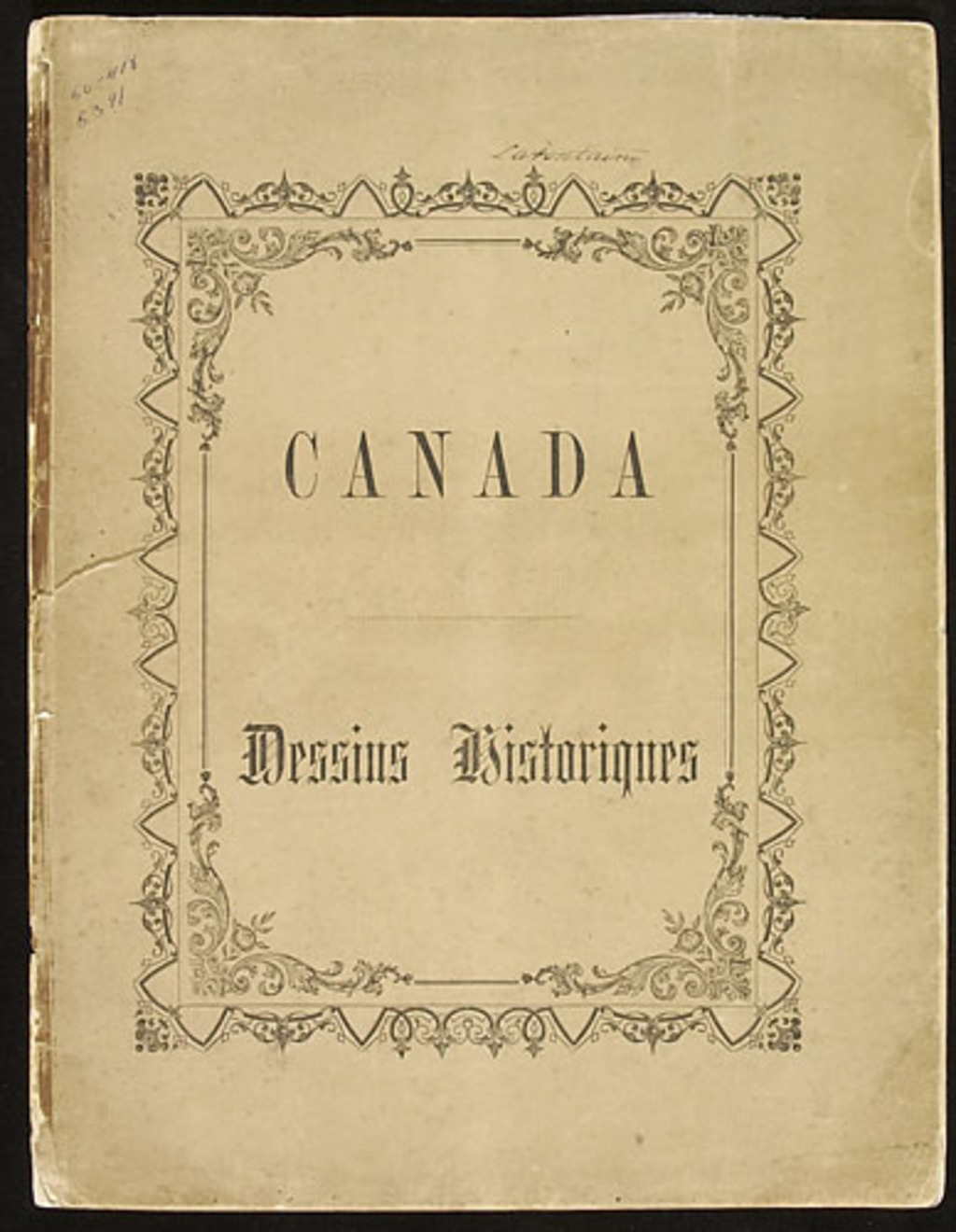 Canada. Dessins historiques