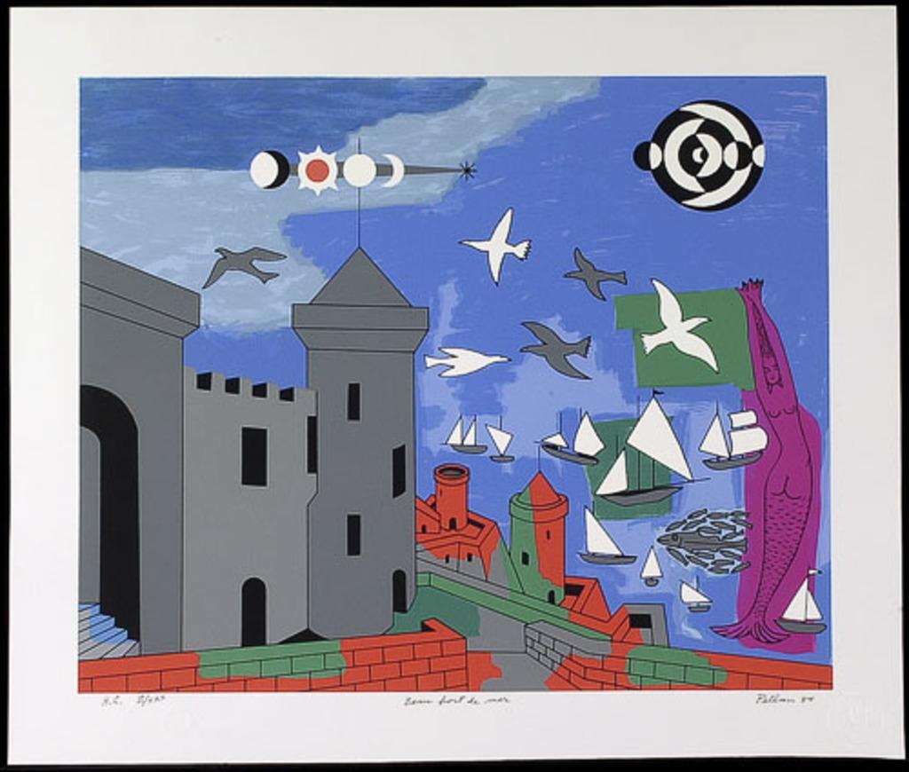 Beau Port de mer, du livre d'artiste «Septuor maritime»