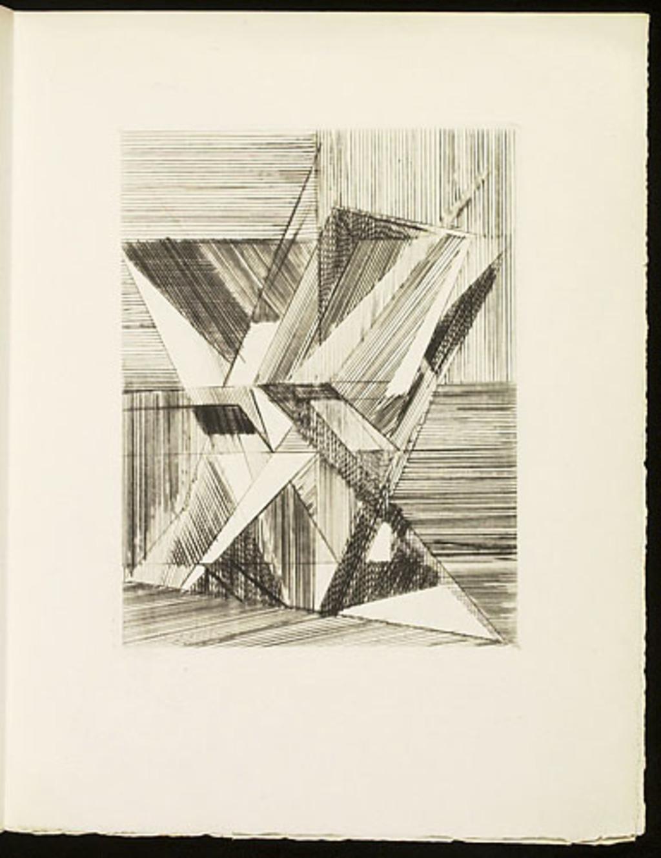 Les Vases, du livre illustré «Éloge de Jacques Villon»