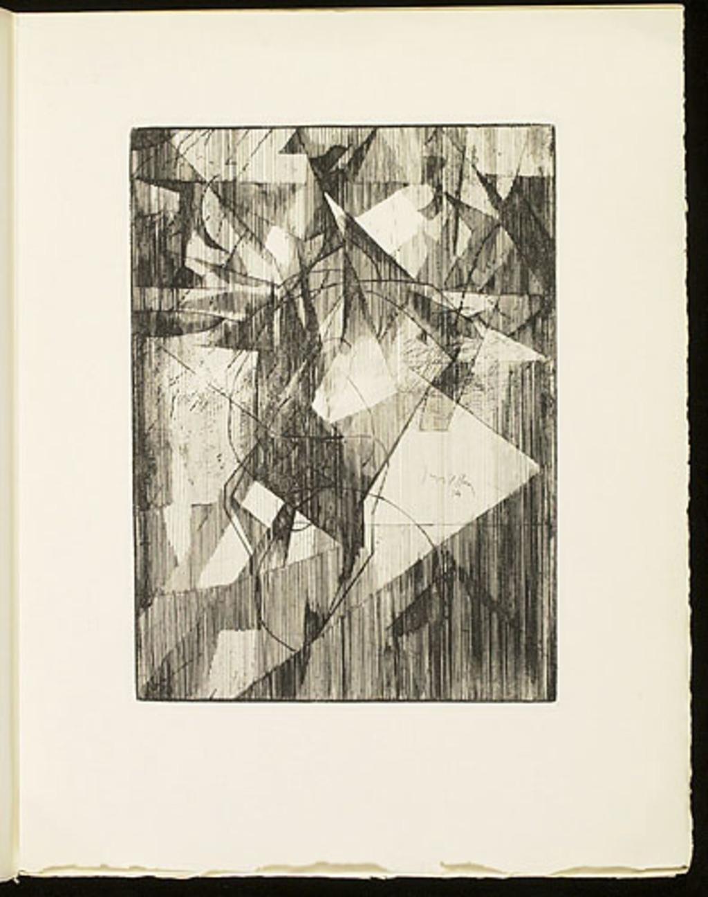 L'Équilibriste, du livre illustré «Éloge de Jacques Villon»