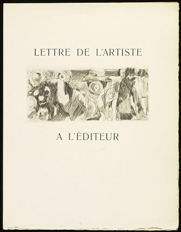 Zodiaque, du livre illustré «Éloge de Jacques Villon»