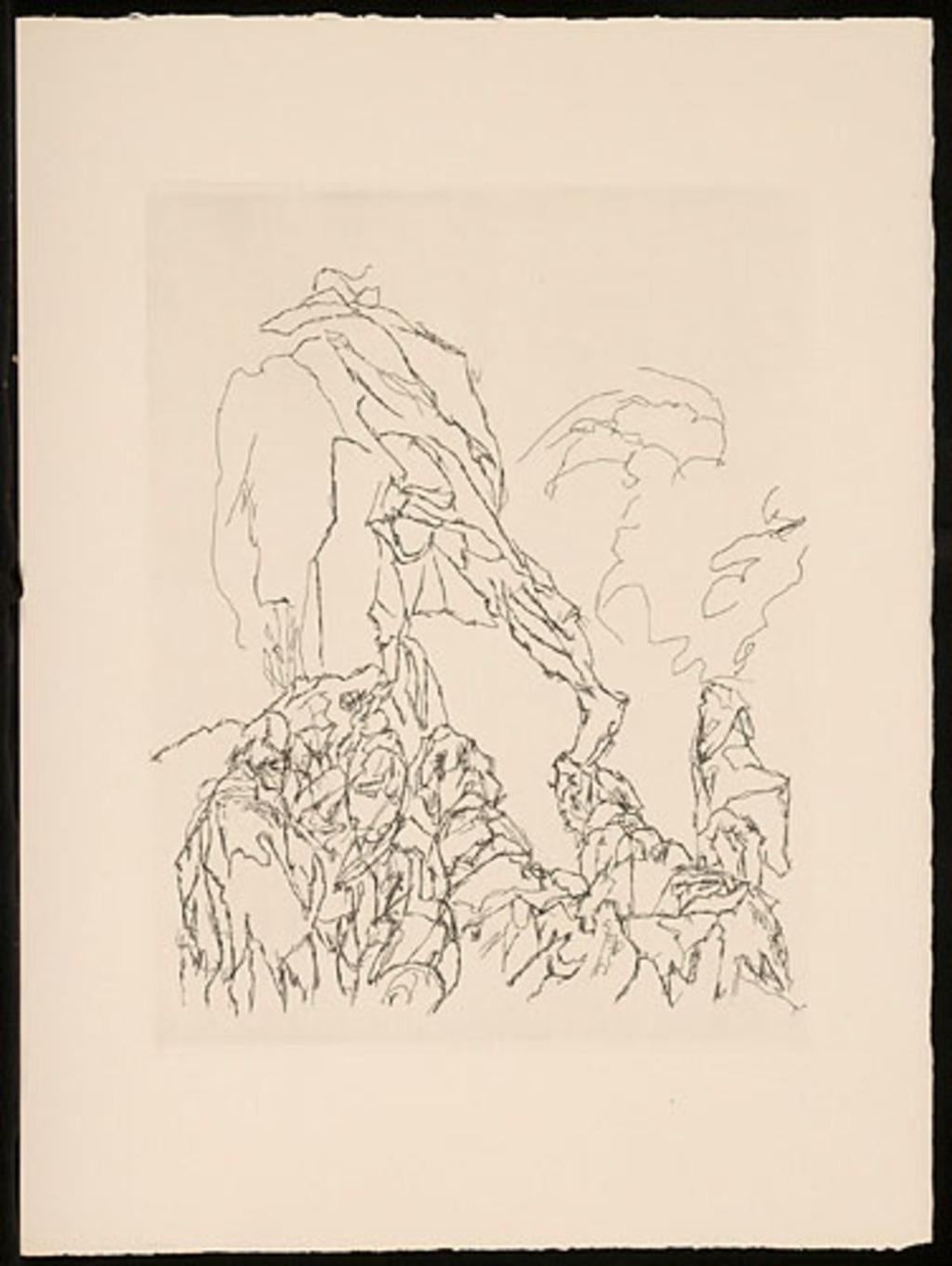 C'est en or que fut formée la première race d'hommes mortels par les éternels habitants de l'Olympe, du livre d'artiste «Les Travaux et les jours»