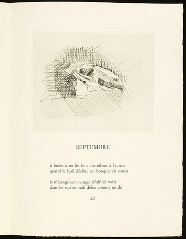 Sans titre, du livre d'artiste «Dents de lait. Dents de loup»