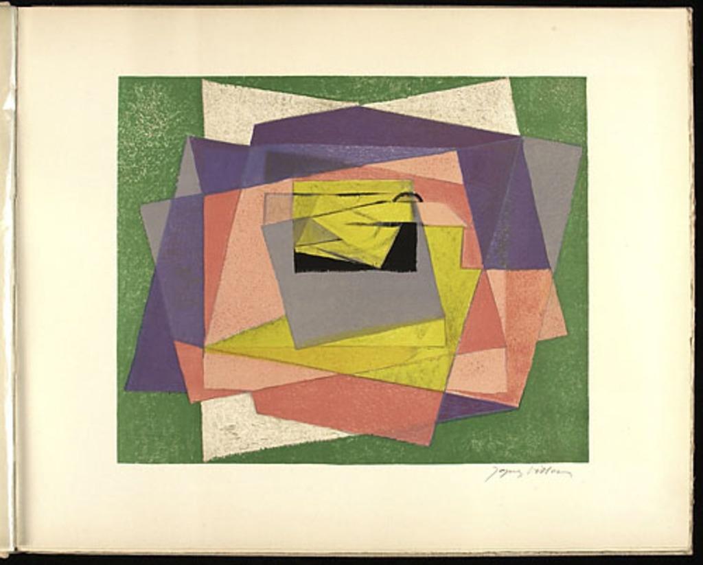 Papiers, du livre illustré «Jacques Villon»