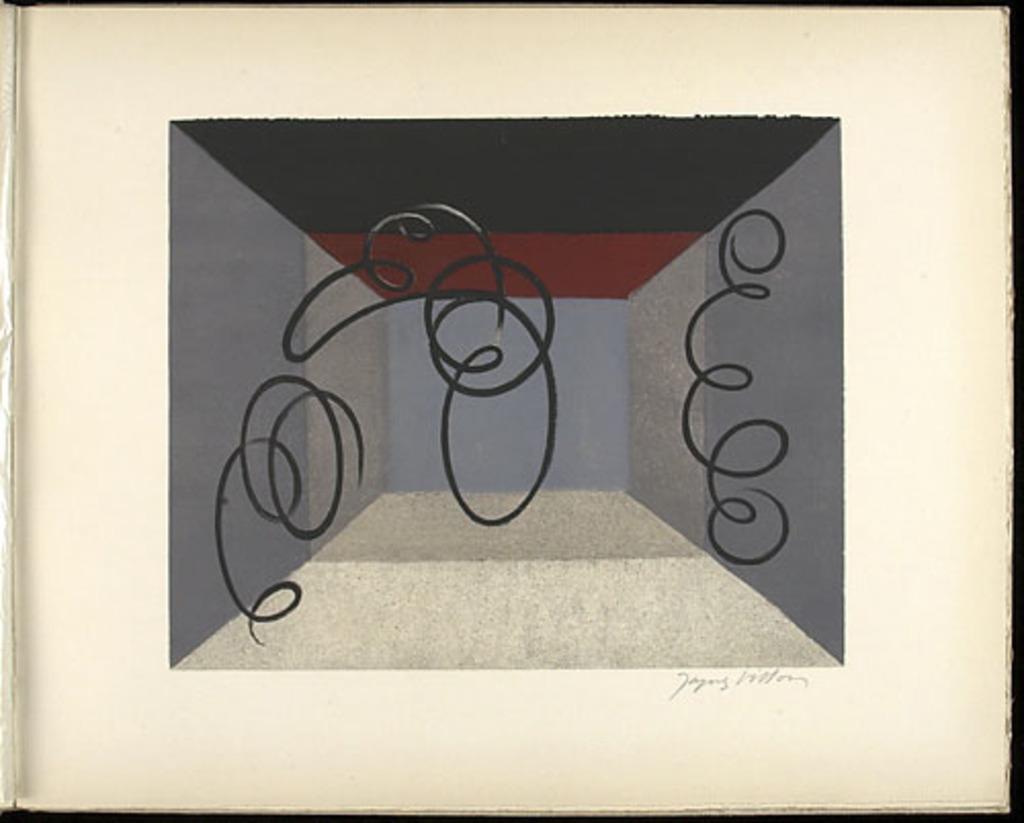 Le Théâtre, du livre illustré «Jacques Villon»