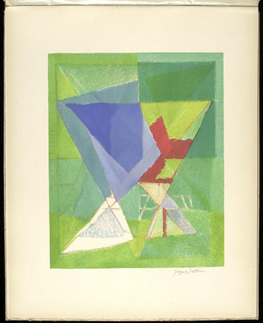 Vers la chimère, du livre illustré «Jacques Villon»