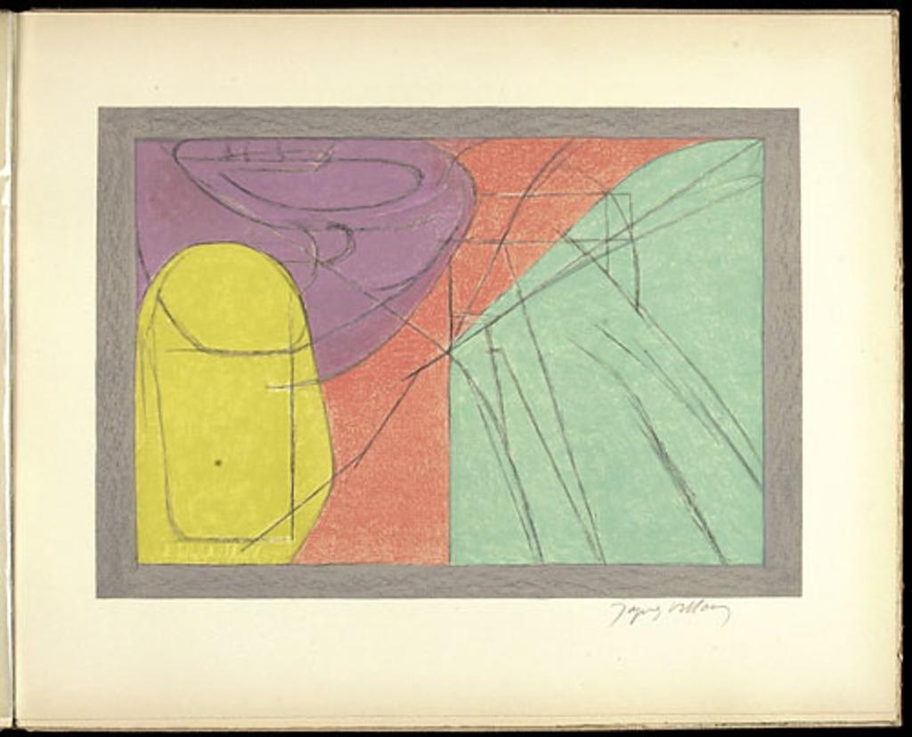 Le Vase jaune, du livre illustré «Jacques Villon»